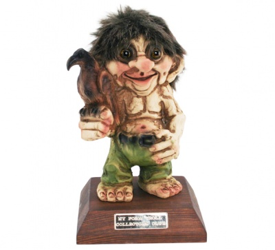 TROLLS CLUB 2019 NYFORM TC19 522 ORIGINALE COLLEZIONE NORVEGESE PORTAFORTUNA